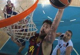 Foto: El Barça sigue invicto aunque tardó en romper al Turow (HTTP://WWW.EUROLEAGUE.NET/)