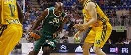 Foto: Unicaja no se baja de la nube (HTTP://WWW.EUROLEAGUE.NET)