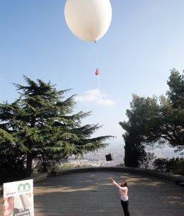 Foto: Mémora lanza un servicio para enviar cenizas de difuntos a la estratosfera (MÉMORA/J.IRUN)