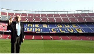 Mor Biosca, l'últim supervivent del 'Barça de les Cinc Copes'