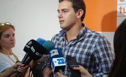 """Foto: Rivera (C's) pide a Mas que """"cumpla las leyes, las sentencias y que gobierne"""" (EUROPA PRESS)"""