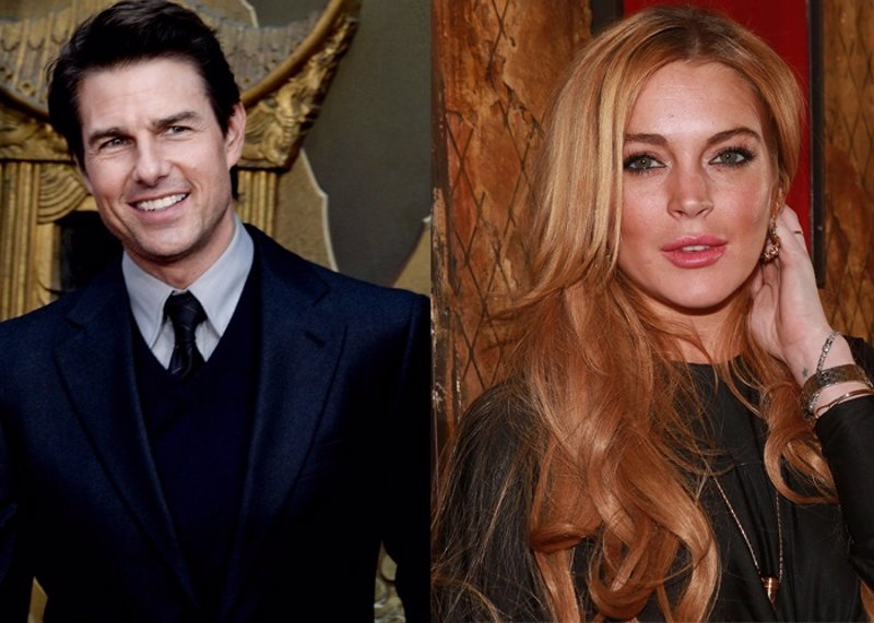 tom cruise dating lohan Lindsay lohan has denied the rumors claiming that she was dating actor tom cruise.