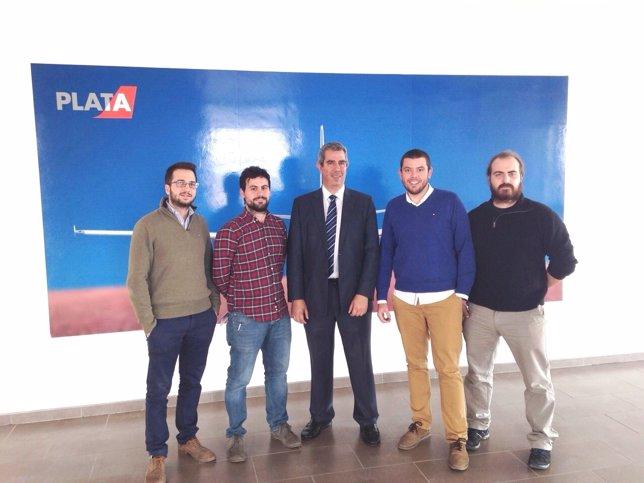 La empresa PLD Space llega al Aeropuerto de Teruel.