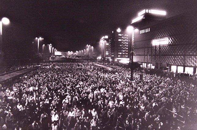 Más de 70.000 personas de concentran en Leipzig (e