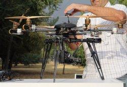 Drones que usa Endesa para revisar la red eléctrica.