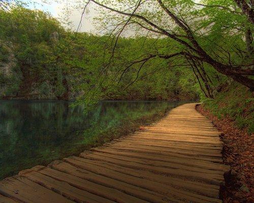 Los lagos de Plitvice en Croacia