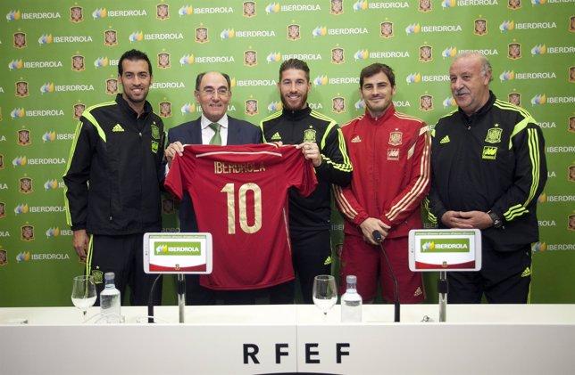 Iberdrola renueva su apoyo a la Selección de España