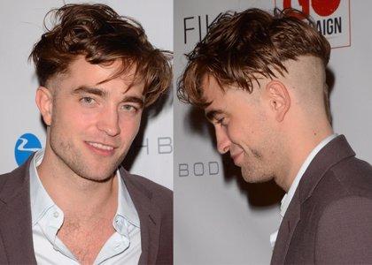 Foto: Robert Pattinson desvela al mundo su extraño corte de pelo
