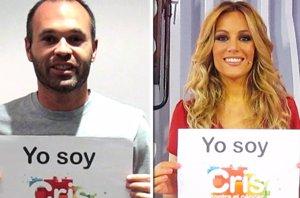 Foto: Más de 100 famosos participan en la campaña #YoSoyCris para la investigación contra cáncer (EUROPA PRESS)