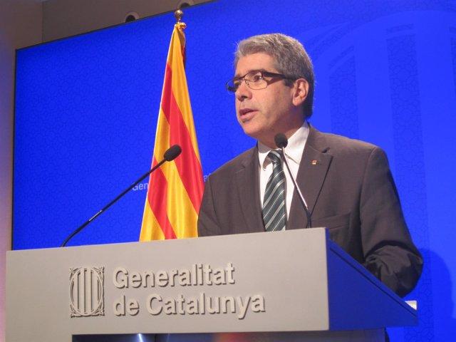 El portavoz de la Generalitat, Francesc Homs
