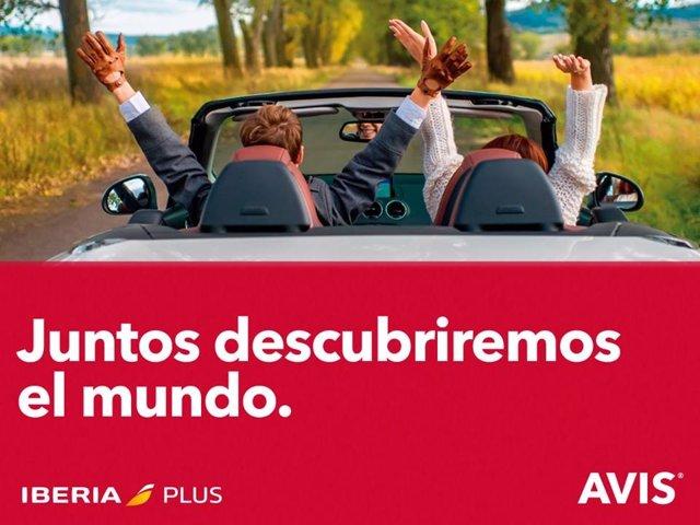 Foto: Avis se convierte en partner preferente de Iberia Plus