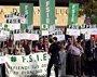 """Foto: Unos 800 empleados de la concertada se concentran en Educación por """"discriminación"""" al no restituirles pagas extra"""