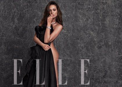 Foto: Eva González, espectacular, se desnuda por primera vez para ELLE