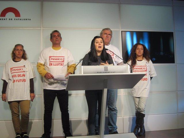 Foto: Economía/Empresas.- Extrabajadores de Panrico denuncian a la Generalitat ante la Oficina Antifraude