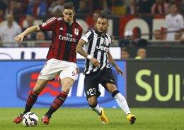 """Foto: Torres: """"El derbi de Milán me emociona"""" (STEFANO RELLANDINI / REUTERS)"""