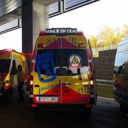 Foto: ¿A dónde van las ambulancias del Samur? (EUROPA PRESS)