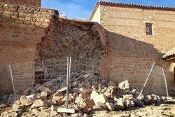 Derrumbe castillo Peñarroya