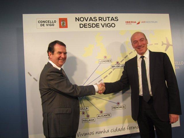 Foto: Air Nostrum presenta las ocho nuevas rutas desde Vigo y adelanta la conexión con Gran Canaria a Navidad