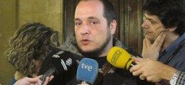 Foto: David Fernández dejará de presidir la comisión sobre Pujol si no se amplían los comparecientes (EUROPA PRESS)