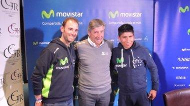 Foto: Unzué confirma que Quintana y Valverde correrán el Tour (MOVISTAR TEAM)