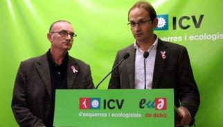 """ICV-EUiA es replantejarà la Comissió de frau després del """"veto"""" d'alguns partits a compareixents"""