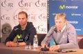 """Foto: Valverde: """"Se ve claramente que Quintana puede optar a ganar el Tour"""" (MOVISTAR TEAM)"""