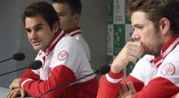 """Foto: Federer: """"El problema es que llevaba tiempo sin jugar en tierra"""" (PASCAL ROSSIGNOL / REUTERS)"""