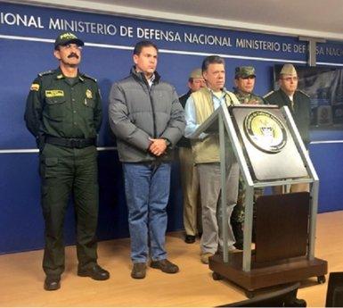 Foto: Un policia mort, quatre ferits i tres desapareguts en un atac de les FARC (TWITTER)
