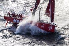 Foto: El 'MAPFRE' apunta al Nord i és un dels més ràpids del cap de la flota (MARÍA MUIÑA / MAPFRE)