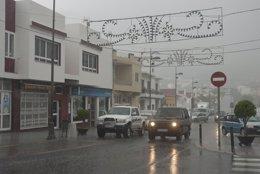 Foto: Las precipitaciones continúan este domingo en Canarias (CEDIDA)