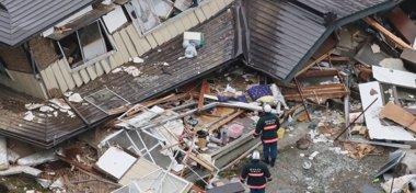 Foto: Aumentan a 39 los heridos por el terremoto de 6,8 en Japón (REUTERS)