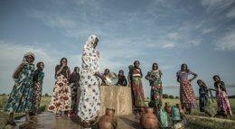 Foto: Un pozo de agua que salva vidas en Chad (OXFAM INTERMÓN)