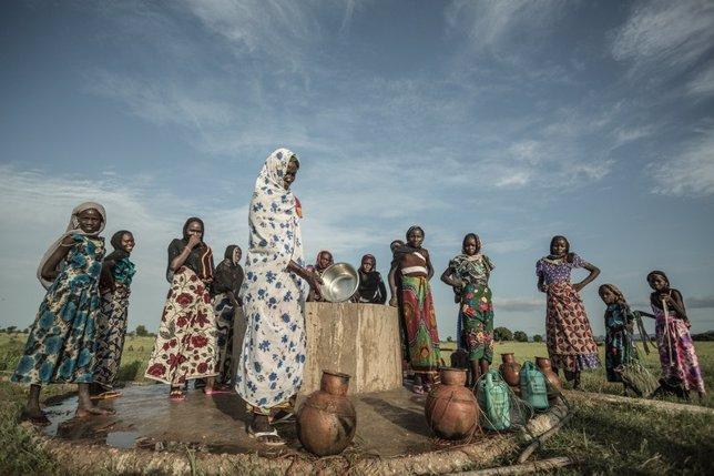 Mujeres en Chad