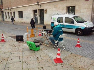 Foto: Telefónica inicia el despliegue de fibra óptica en Palencia (TELEFÓNICA)