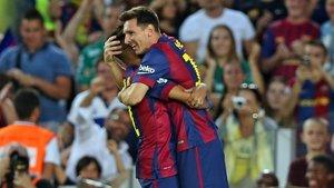 """Foto: Messi: """"El rècord és per a tots els qui m'han ajudat"""" (FCB)"""