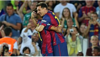 """Messi: """"El rècord és per a tots els qui m'han ajudat"""""""