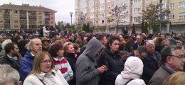 Foto: Miles de burgaleses muestran su apoyo a los trabajadores de Campofrío (EUROPA PRESS)