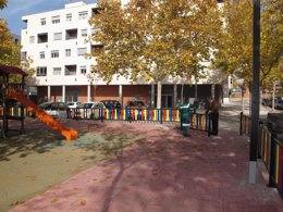 Foto: Teruel mejora la seguridad del parque infantil de La Fuenfresca (AYTO)