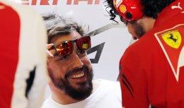 """Foto: Alonso: """"Lo mejor está por llegar"""" (AHMED JADALLAH / REUTERS)"""