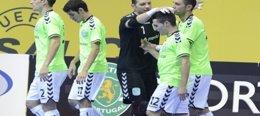 Foto: El Inter pierde (0-1) ante el Sporting Lisboa y se queda sin 'Final Four' (HTTP://WWW.LNFS.ES/)