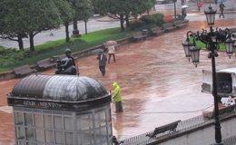 Foto: Las lluvias se impondrán también en un inicio de semana muy nuboso (EUROPA PRESS)