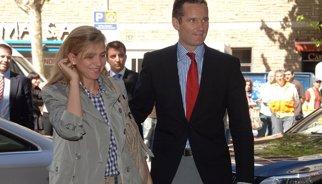 Urdangarin.- Manos Limpias demanarà vuit anys de presó per a la Infanta Cristina