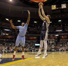 Foto: Marc Gasol vuelve a deslumbrar ante los Clippers (REUTERS)