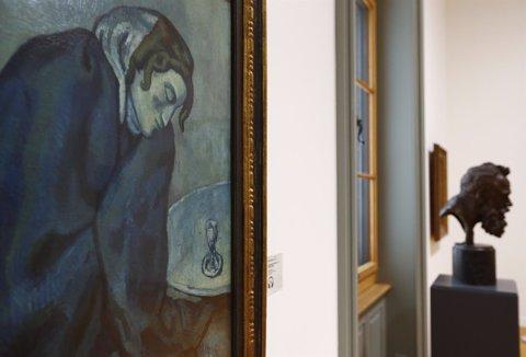 Cuadro de Picasso que forma parte de la colección Gurlitt, Museo de Arte Berna