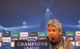 """Foto: Lucescu (Shakhtar): """"Estoy seguro de que el Athletic dará el 100%"""" (EUROPA PRESS)"""