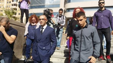 Foto: Juzgan hoy a 'Alfon' por llevar un artefacto explosivo el 14N (EUROPA PRESS)