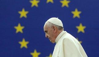 El papa defensa davant de l'Eurocambra la dignitat de l'home