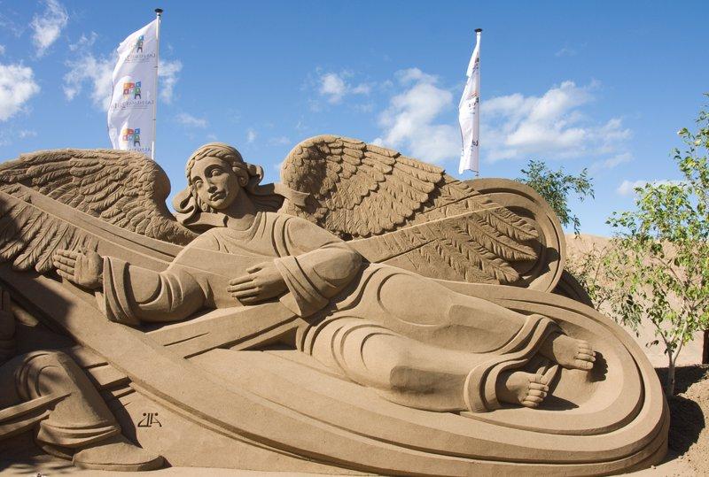Belén de arena de Gran Canarias
