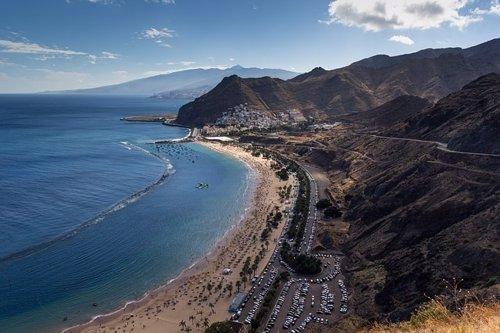 Playa de las Teresitas, islas Canarias