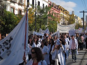 Foto: La mayoría de hospitales incumple el estatuto MIR con sus residentes (EUROPA PRESS)